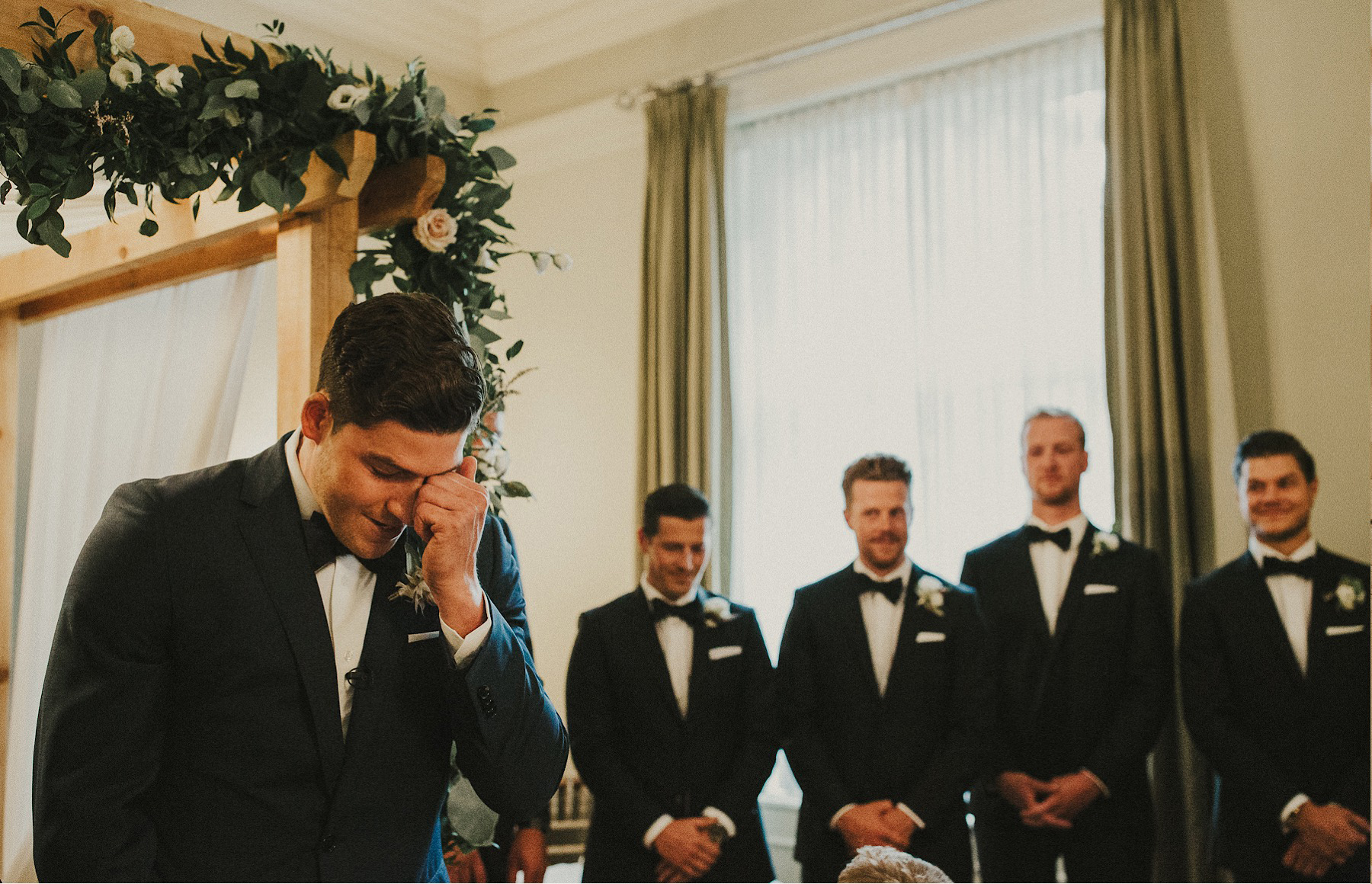 an urban vancouver club wedding