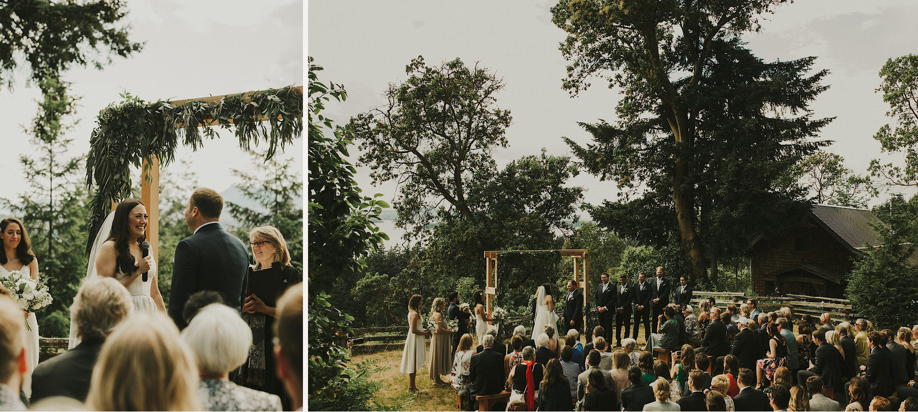 bodega ridge wedding ceremony