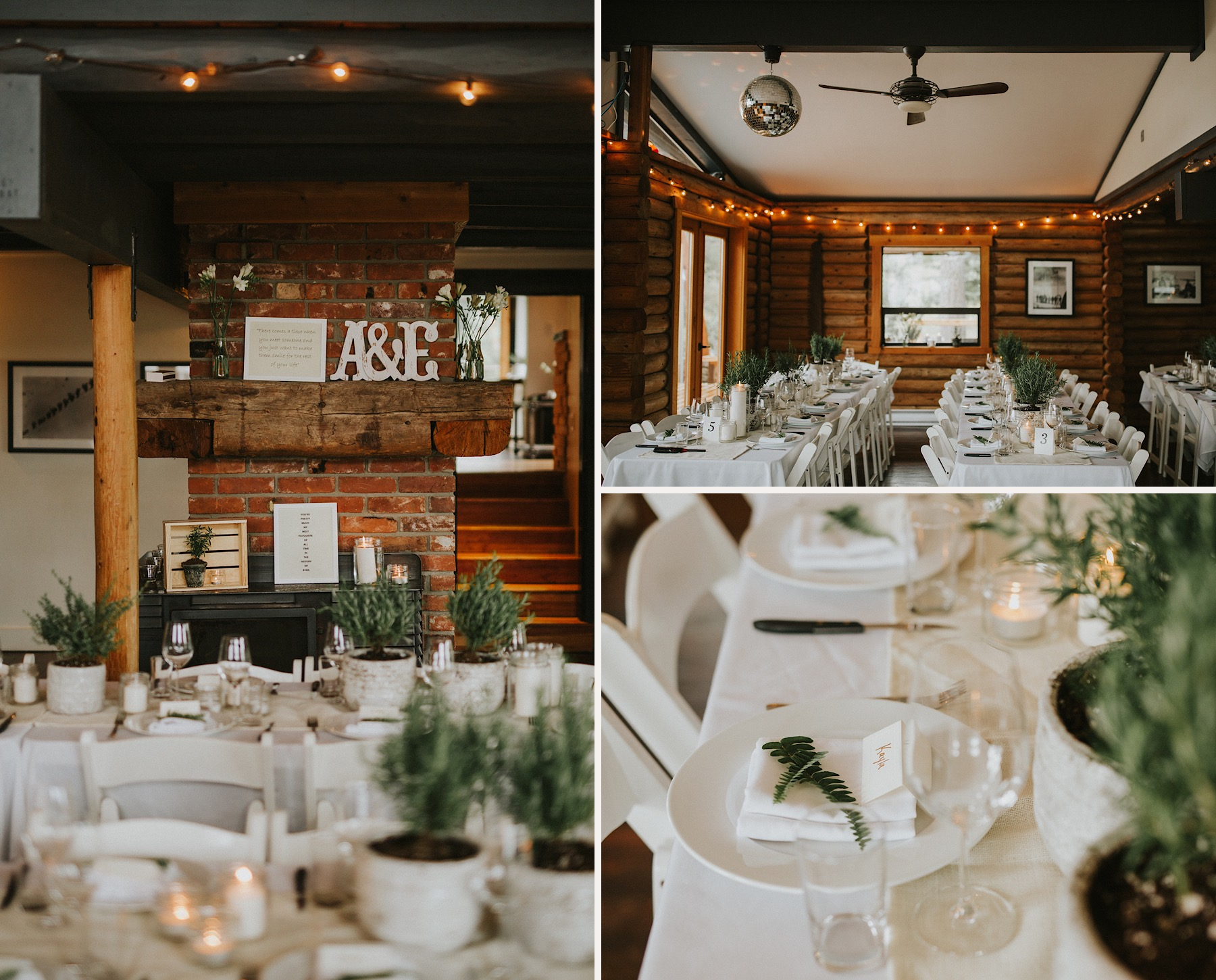 bodega ridge indoor wedding reception