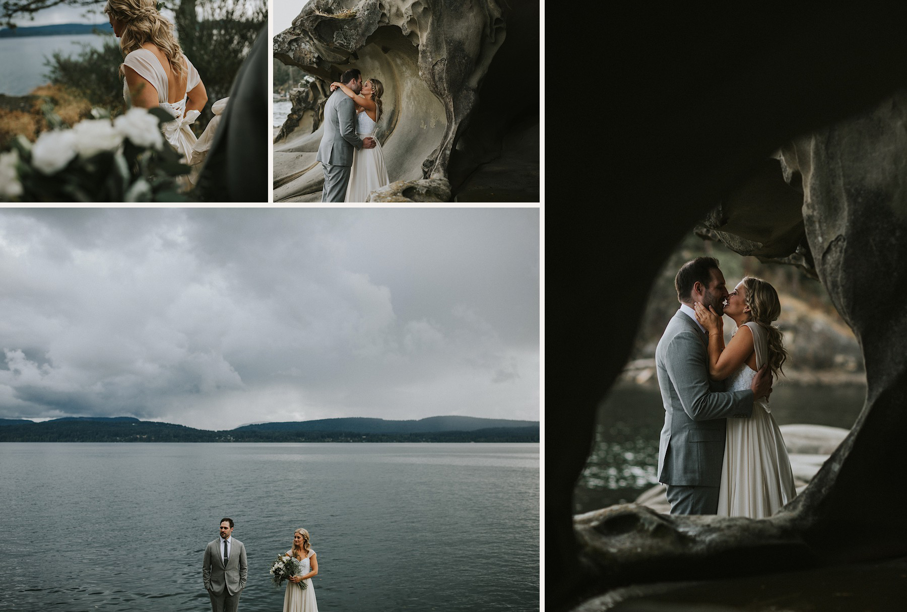 bodega ridge bride and groom portraits